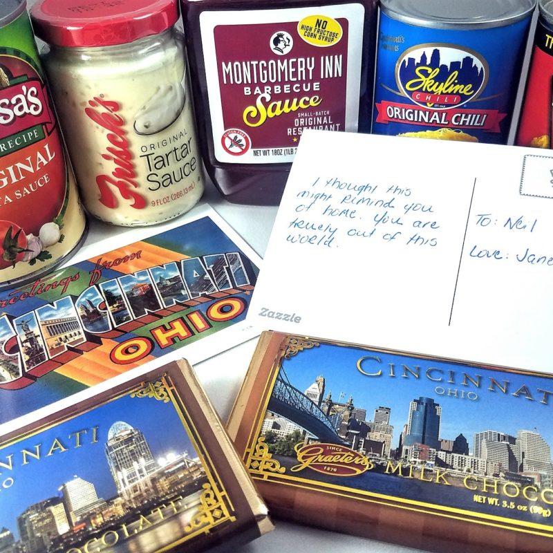 Cincinnati care packages are the best!