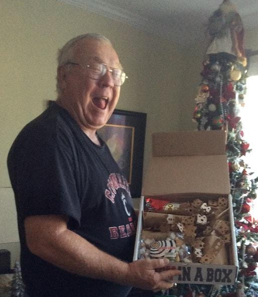 The best Cincinnati gift basket - is a box!
