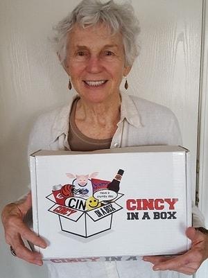 Cincinnati gift baskets are nice, but a Cincinnati gift box is even better!