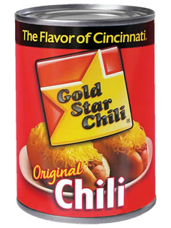 Gold Star Can of Chili