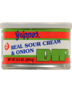 Grippo's Sour Cream & Onion Dip
