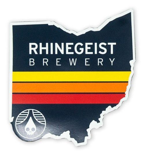 Rhinegeist Fury Ohio Magnet