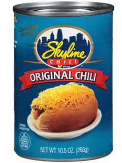 Skyline Can of Chili