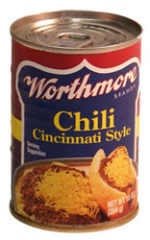 Worthmore Can of Chili