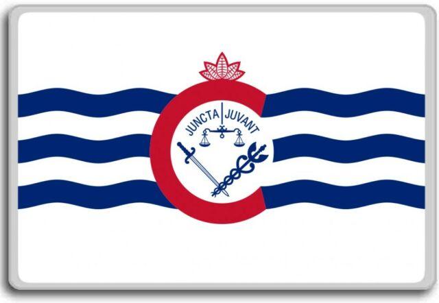 Cincinnati Flag Magnet