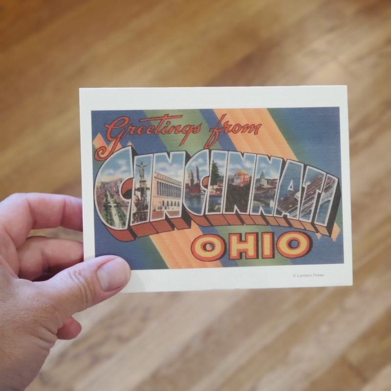 Retro Cincinnati Postcard