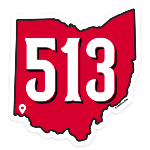 513 Baseball Sticker