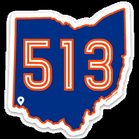 513 Soccer Sticker