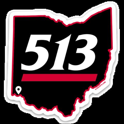 513 Uptown Sticker