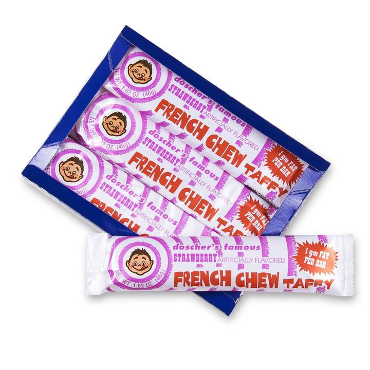 PREMIUM: Doscher's Strawberry French Chew 3 Count